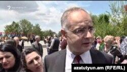 Запредседателя партии «Армянский национальный конгресс» Левон Зурабян (архив)
