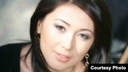 «Бауыржан» қайырымдылық қорының қызметкері Жұлдыз Омарбекова.