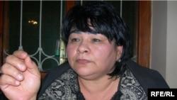 Руководитель общества прав человека «Эзгулик» Василя Иноятова.