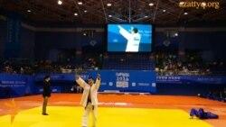 Первое золото сборной Казахстана в Нанкине