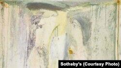 «Распятие на кресте» работы Ираклия Парджиани демонстрировалась в рамках выставки «На перекрестке» выставка кавказского и центрально-азиатского искусства в аукционном доме Sotheby's в Лондоне в марте 2013