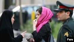 Women who dress immodestly in Iran can expect to be stopped by the police from time to time.