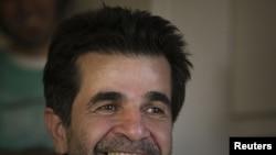 جعفر پناهی، کارگردان ایرانی، پس از آزادی از زندان اوین