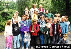 Канікулы беларускіх «праблемных» дзяцей у Нямеччыне, канец 1990-х
