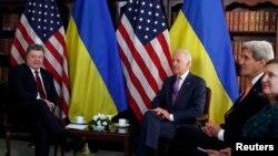 Встреча Порошенко с Байденом, Керри и Нуланд во время Мюнхенской конференции по безопасности