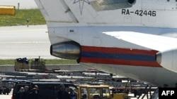 Самолет МЧС России в аэропорту Вены, 9 июля 2010 г.