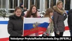 Проросійська акція у Сімферополі