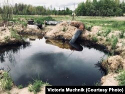 Нефтеразлив в Югре