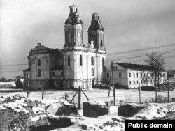Царква Покрыва Багародзіцы і манастыр базылянаў, 1941 год