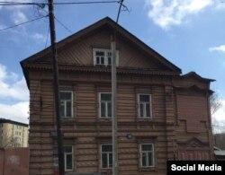 Дом 16 на улице Ульянова-Ленина - до восстановления (фото Юрия Балашова)