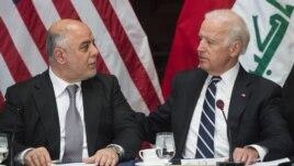 بايدن والعبادي في البيت الأبيض - 16 نيسان 2015
