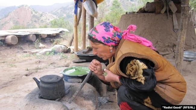 Хлеб, сахар, чай - основные продукты дастархана