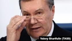 Віктор Янукович, Москва, 2 березня 2018 року