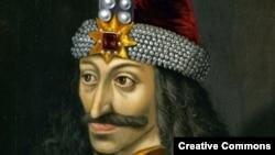 Влад III Цепеш. Портрет XVI века - по преданию, копия изображения, писанного с натуры при жизни князя
