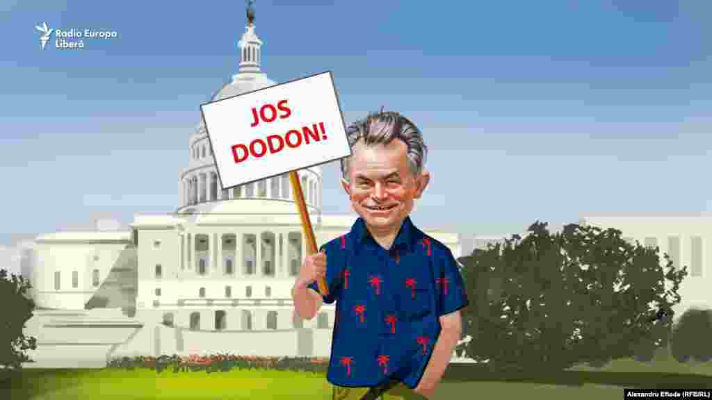 În străinătate, Dodon îi este rival. Plahotniuc a denunțat în presa de la Washington amestecul presei ruse în alegerile moldovene de partea lui Dodon.