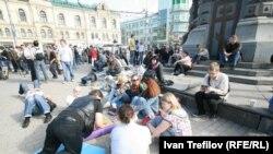 Протест на опозицијата во Москва 08.05.2012.