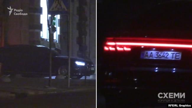 Журналісти почали помічати Audi А8 в Офісі президента від початку року