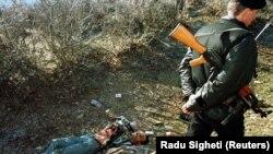 Prizor iz Račka, mesta masakra, 19. januara 1999. godine