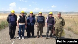 ԵԱՀԿ Մինսկի խմբի համանախագահները Լեռնային Ղարաբաղի և Ադրբեջանի զինված ուժերի շփման գծում, արխիվ