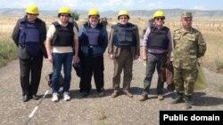 ԵԱՀԿ Մինսկի խմբի համանախագահները՝ Լեռնային Ղարաբաղի և Ադրբեջանի զինված ուժերի շփման գծում, արխիվ