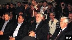 Избори 2014:Митинг на ДПА во Гостивар.