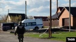 Дом Андрея Гошта под Сызранью, где произошло убийство