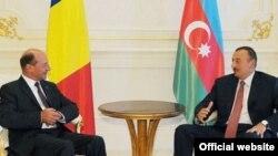 Președinții Ilham Aliyev și Traian Băsescu la Baku