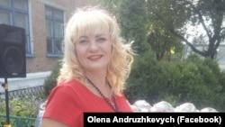 Волонтерка Олена Андрушкевич