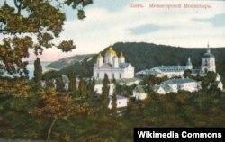 Снесенный по приказу политбюро Межигорский монастырь