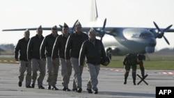 عکس آرشیوی است. نیروهای روس در بازگشت از سوریه به روسیه
