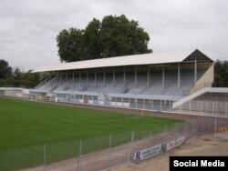 Стадион в Безье, неподалеку от которого был обнаружен тайник со взрывчаткой