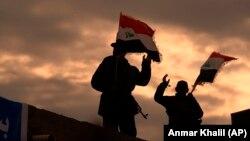 Pripadnici iračke milicije, fotoarhiv