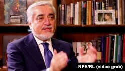 "Afghan Chief Executive Abdullah Abdullah told RFE/RL that foreign troops are still needed in Afghanistan ""until the war is over."""