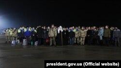 Зустріч полонених у Харкові, 27 грудня 2019 року