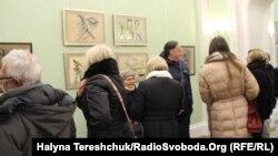 Виставка робіт Олега Мінька. Львів, 22 листопада 2016 року