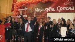 Sa predizbornog skupa Saveza nezavisnih socijaldemokrata u Istočnoj Ilidži