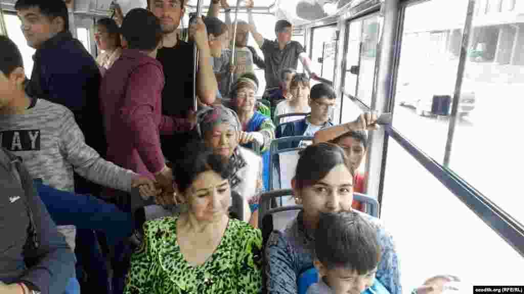 Первые дни работы показывают, что трамвай пользуется спросом среди горожан.