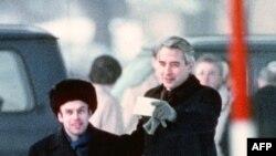 11 февраля 1986 года Натан Щаранский и посол США в ФРГ Ричард Берт