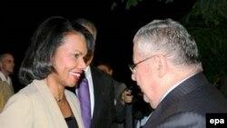 قرار است رایس در جریان سفر خود با رییس جمهوری عراق نیز دیدارکند.