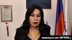 Armenian opposition lawmaker Naira Zohrabian