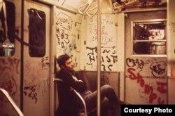 Граффити в нью-йоркском сабвее