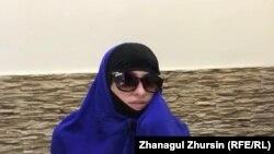 Kazakhstan - A Kazakh woman evacuated to Kazakhstan through Zhussan-2 operation.