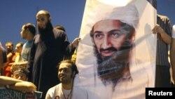 اسامه بن لادن رهبر شبکۀ القاعده