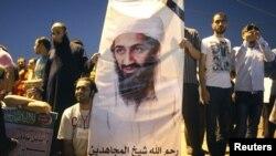 Poster i Bin Ladenit...