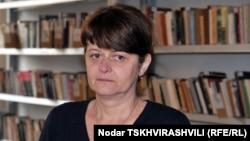 Глава Національного центру іспитів Міністерства освіти Майя Міміношвілі