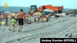 Сочинские пляжи сегодня
