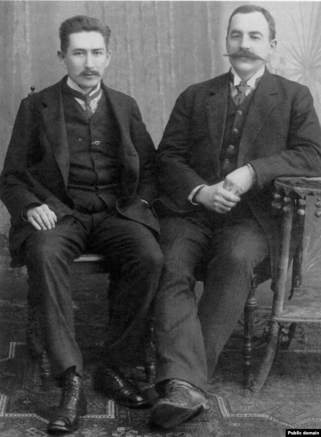 Іван Луцкевіч і Аляксандар Уласаў