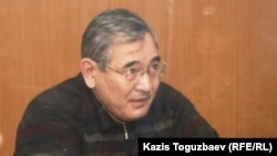 ҰҚК-нің бұрынғы генералы Әбдіразақ Ілиясов. Алматы, 30 желтоқсан 2013 жыл.