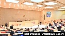 Сессионное заседание в парламенте Грузии