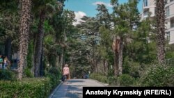 Приморский парк в Ялте